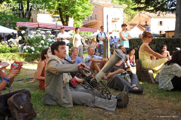 Thursday 13 June 2019 / Artisti in Piazza / Pennabilli Festival / ph Alessandro Rollo