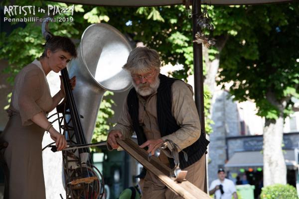 Thursday 13 June 2019 / Artisti in Piazza / Pennabilli Festival / ph Stefano Scheda
