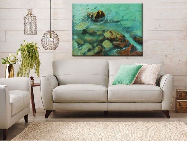 seaside-art-print-wall-decor-ideas