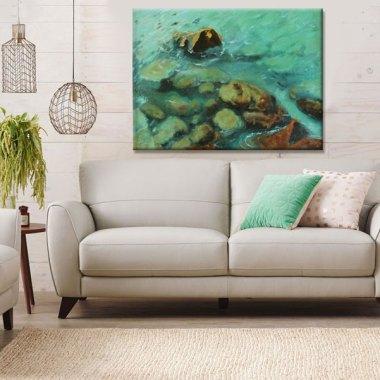 seaside-art-print-wall-decor-ideas