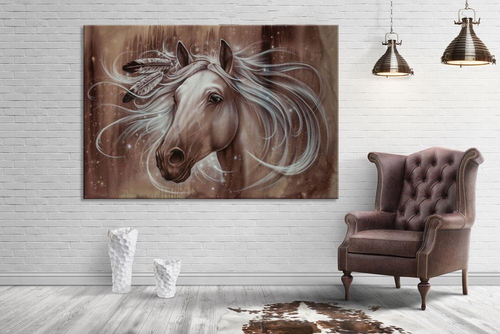 horse-wall-art-canvas-print-iron-horse