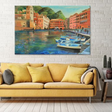 Italian Coastal Village Prints