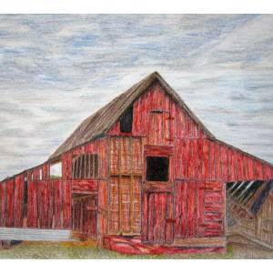 The Old Barn 9″x 12″