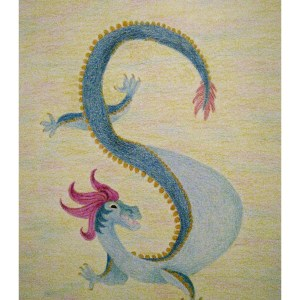 Fritzy the Dragon 11″x 14″