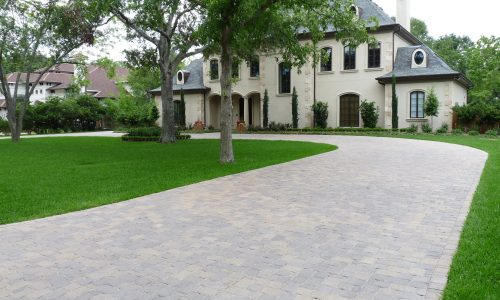 outdoor living services in houston and chattanooga, concrete pavers, pavestone driveway