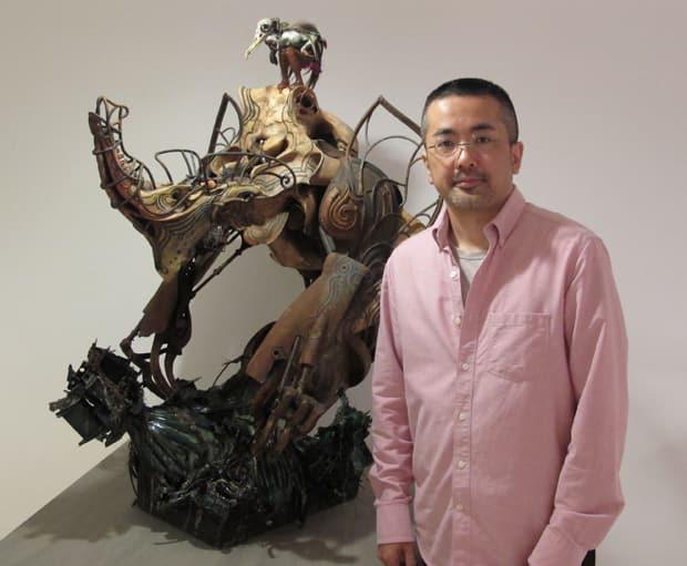 takeya takayuki sculpture image of creator art artist garo