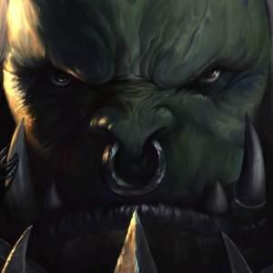 Suyi Tang Freak 2D concept artist old soldier never die orc portrait wow warcraft fanart