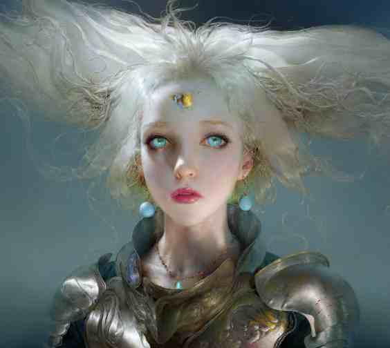 Ruan Jia Frost 2d Concept art artist amazing colors