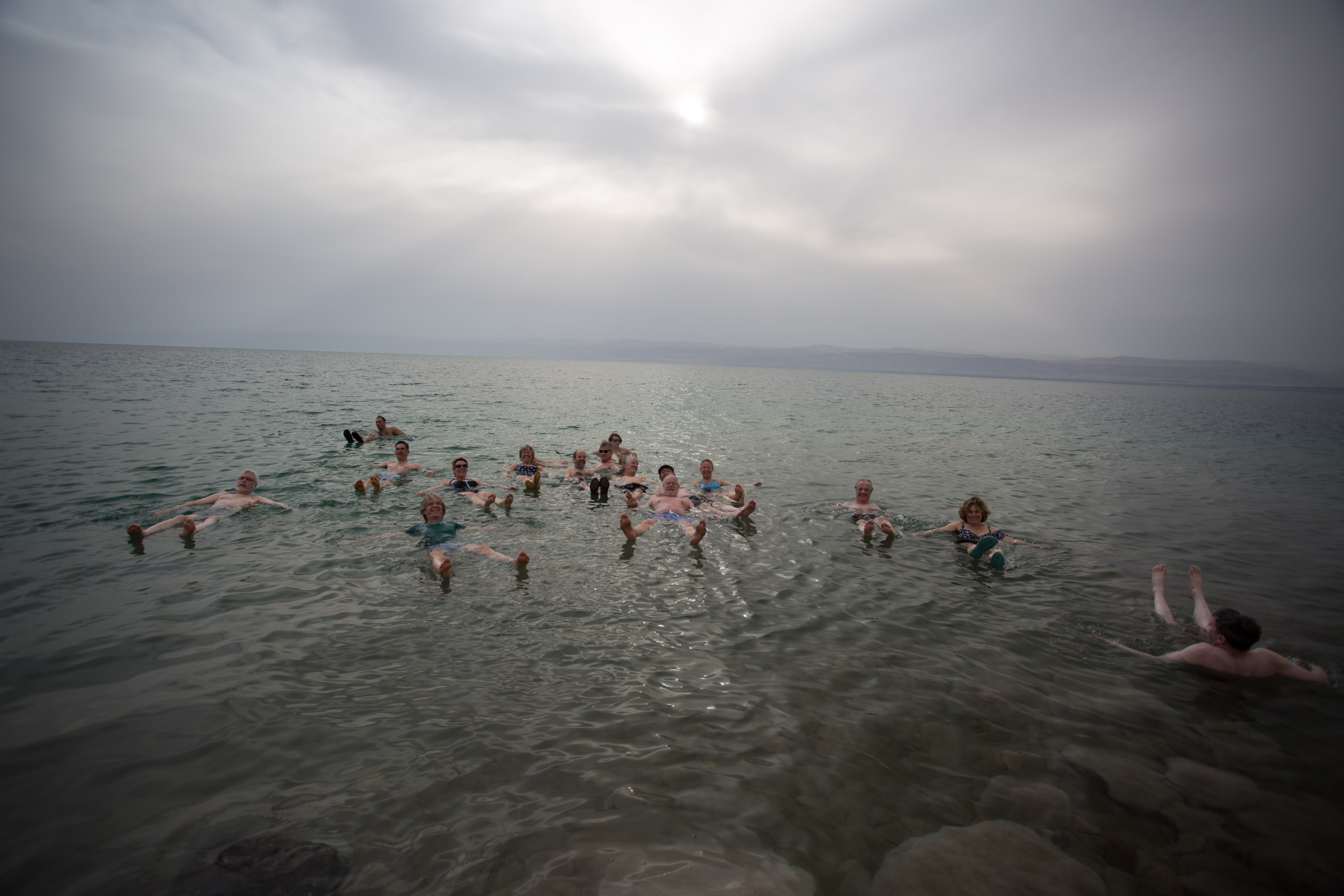 A Dip in the Dead Sea!
