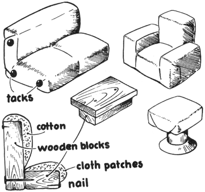 make doll furniture