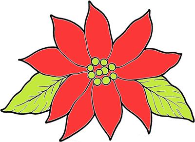 Christmas Poinsettias Crafts For Kids Make Xmas