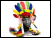 "Native   American Headdresses <span class=""western"" style="" line-height: 100%""> : American Indians Arts and Crafts Projects for Children</span>"