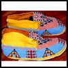 """Native   American Moccasins <span class=""""western"""" style="""" line-height: 100%""""> : American Indians Arts and Crafts Projects for Children</span>"""