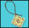 """Native   American Pendant <span class=""""western"""" style="""" line-height: 100%""""> : American Indians Arts and Crafts Projects for Children</span>"""