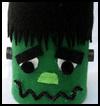 Tin   Can Frankenstein Halloween Decoration
