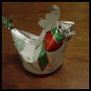 Coke   Can chicken: Figurine/Cream Holder/Oil Lmp