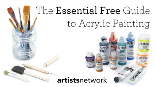 Are You Doing Acrylic Painting The Right Way Find Out In This Free Tutorial