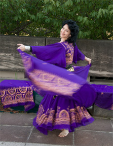 An interview with Creative Spirit Shelby Pizzarro of Egyptian Moon Dance Company
