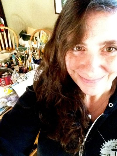 Creative Spirit Jenn Ashton talks about harnessing the subconscious, working from her dining room table and how an ecourse helped find her voice. Click to read.