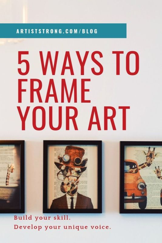 """You're accepted into that group show, or maybe you even have the fortune of preparing for your first solo show! How do you prepare that work so it's """"gallery ready?"""" Is there a right or wrong way to frame your art? #artshow #painting #drawing #artgallery #artiststrong #artframes"""