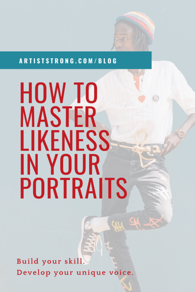 Today I want to talk about mastering likeness in your portraits. We are going to talk about: How capturing likeness isn't about copying the photo reference; Tips to help you see the information in your photo reference and painting or drawing that you sometimes miss; and How people aren't actually harder to draw than anything, but we'll talk about WHY we feel that way. We end with some quick tips on aging (or not aging) your portrait subject and a few considerations when refining your artwork.