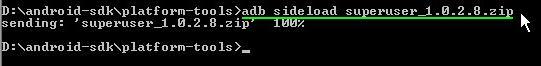 adb sideload
