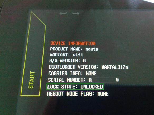 Unlock Bootloader not Wipe