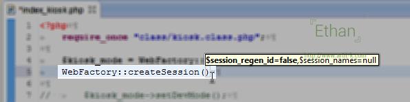 Tooltip ช่วยบอก Parameter ที่ต้องกำหนด