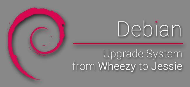 [OS] บันทึกการอัพเกรต Debian Linux 7.8 Wheezy เป็น 8.0 Jessie