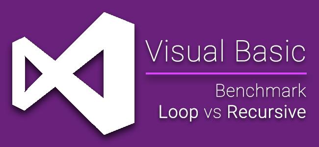 [Dev] จะใช้คำสั่ง Loop หรือเขียน Recursive บน VB.NET ดีนะ