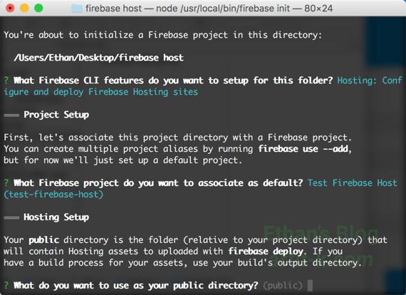 Firebase Initialize