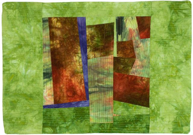 Gateway by Floris Flam Art Quilts