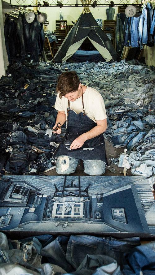 Ian Berry Studio - recycled denim