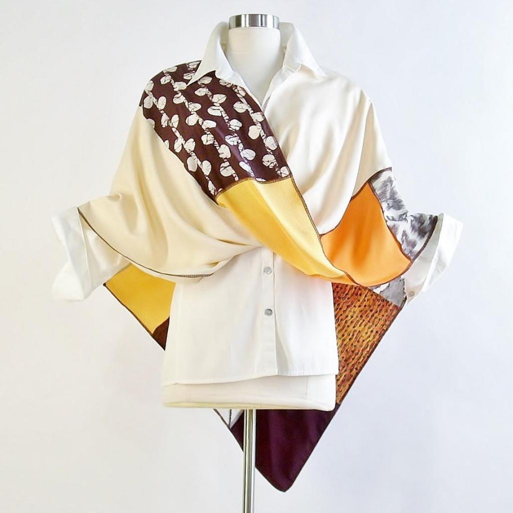Brenda Abdullah Designs Mobius Shawl