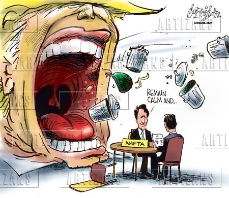 Image result for cartoons of Trumps Bluster