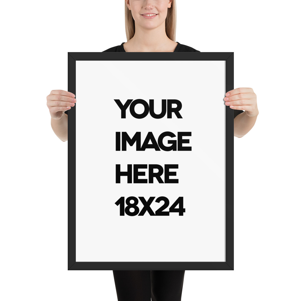 custom framed poster print 18 x 24 inches