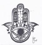 Hand of Fatima pattern (Y., age 14)