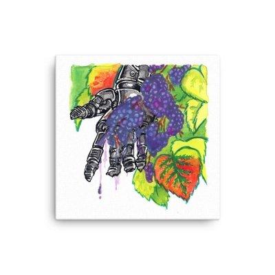 inktober cyborgs ink drawings