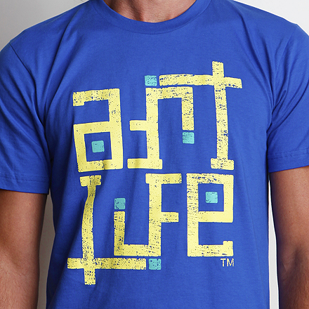 Self-Titled Tee Detail Royal Blue