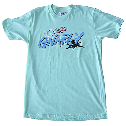 Gnarly Tee (Lime)