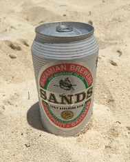 Ice Cold Local Beers on the beach