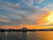 Sunset in Nassau Harbour