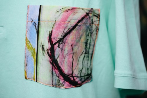 Pocket tee detail