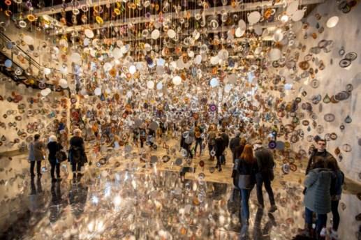 Nick Cave exhibit opening at Mass MoCA