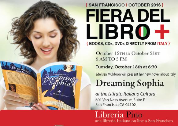 fiera-del-libro-san-francisco-Melissa-Muldoon-Presents-Dreaming-Sophia-Italian-Culture-Week-Libreria-Pino