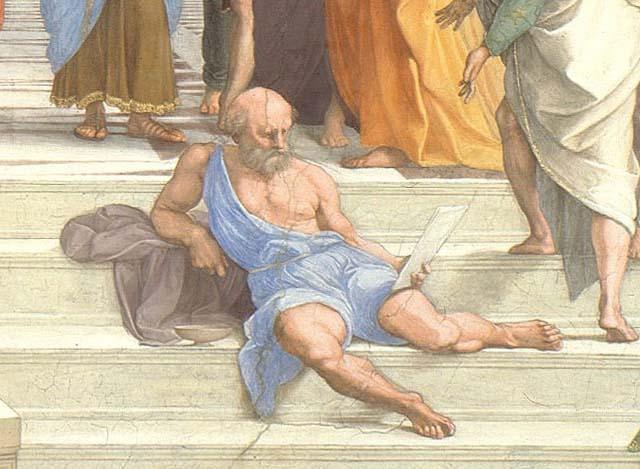 Raphael-raffaello-sanzio-School-Athens-Pope-Julius-rivalry-Michelangelo