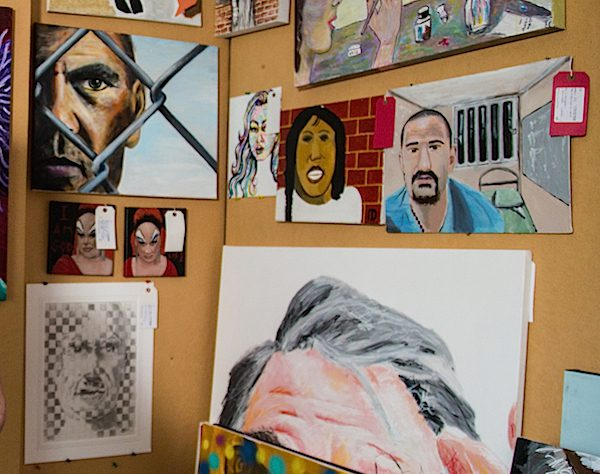 A selection for the upcoming Inside, art by offenders, secure patients and detainees