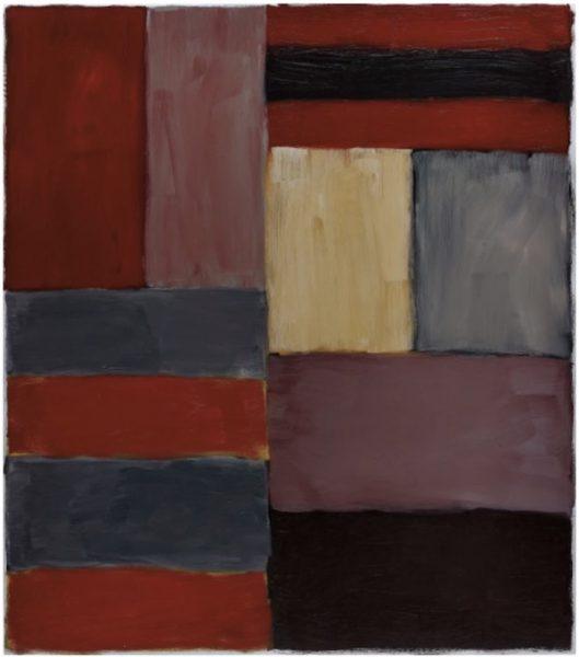 'Grey Red' (2012(, Sean Scully, vendido na Phillips por£1.3 milhão