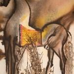 Trojan Horse Salvador Dali After Lithograph Printmaking By Salvador Dali Artmajeur