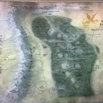 Wilderland Map From The Hobbit Pintura Por Rebecca Maness Artmajeur